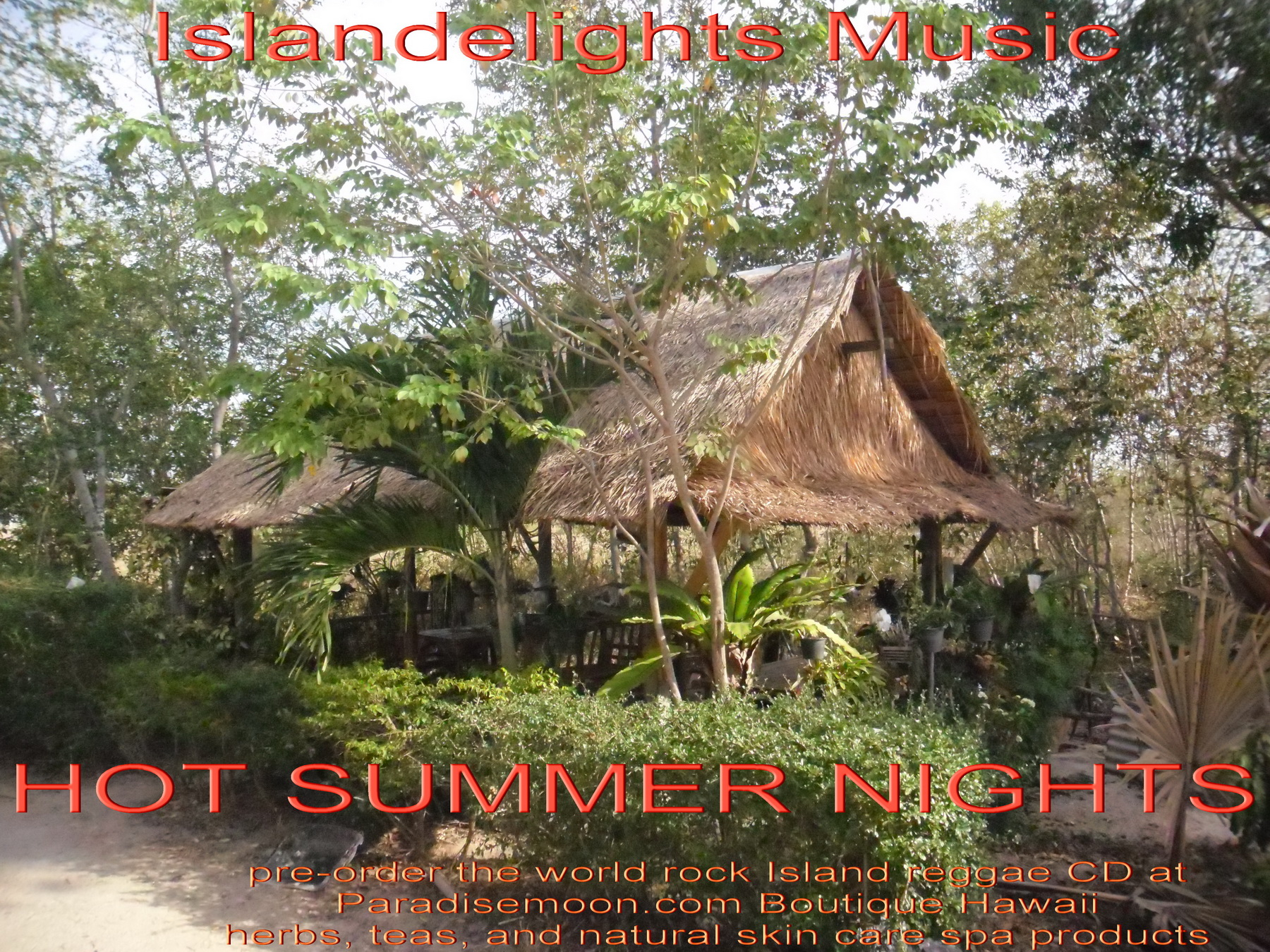 Tomy Gunn's HOT SUMMER NIGHTS CD coming to iTunes Amazon, Bandcamp.